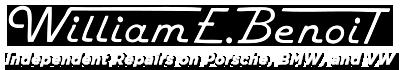 William E. Benoit Independent Repairs
